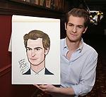 Andrew Garfield Sardi's Portrait Unveiling