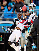 The Carolina Panthers vs. the Atlanta Falcons at Bank of America Stadium in Charlotte, North Carolina...Photos by: Patrick Schneider Photo.com