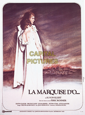 POSTER ART.in The Marquis of O (Die Marquise von O...).*Filmstill - Editorial Use Only*.CAP/NFS.Supplied by Capital Pictures.