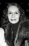 Katherine Helmond attend a Broadway Show on October 14, 1980 in New York City.
