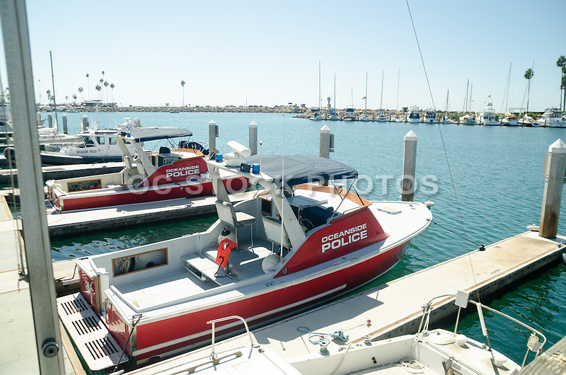 Oceanside Police Boats in the Harbor