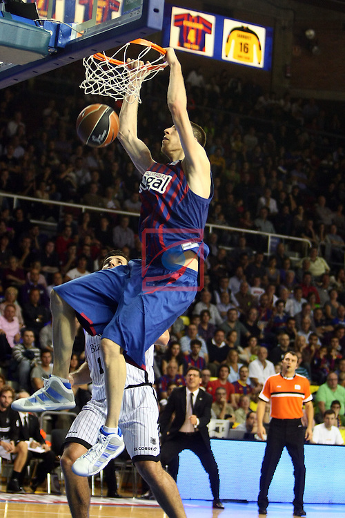 Fran Vazquez. FC Barcelona Regal vs Bizkaia Bilbao Basket: 91-72 (League ACB/Endesa 2011/12-Season: 4)