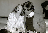 1978 <br /> New York, NY<br /> Phyllis George and Robert Evans at Studio 54<br /> <br /> CAP/MPI/PHL/AS<br /> ©AS/PHL/MPI/Capital Pictures