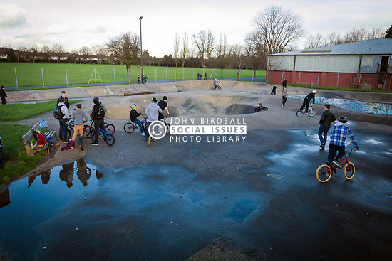 One of the last remaining 70s skateparks, Harrow skateboard park, Byron Park, West London