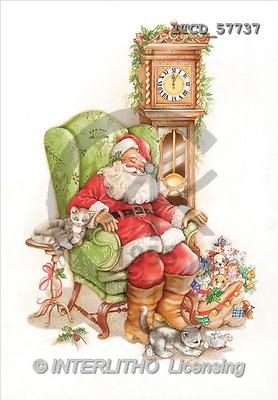 Michele, CHRISTMAS SANTA, SNOWMAN, paintings, santa, armchair, toys(ITCD57737,#X#) stickers Weihnachtsmänner, Schneemänner, Weihnachen, Papá Noel, muñecos de nieve, Navidad, illustrations, pinturas