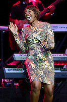 HOLLYWOOD FL - JULY 15 : Yolanda Adams performs at Hard Rock live held at the Seminole Hard Rock hotel & Casino on July 15, 2012 in Hollywood, Florida.<br />
