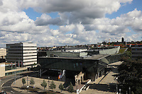 Blick über Darmstadt auf das Darmstadtium