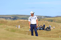 Cian McNamara (IRL) on the 9th during Round 2 of the Dubai Duty Free Irish Open at Ballyliffin Golf Club, Donegal on Friday 6th July 2018.<br /> Picture:  Thos Caffrey / Golffile