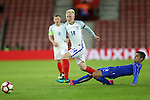 England's Will Hughes tussles with Italy's Alberto Grassi during the Under 21 International Friendly match at the St Mary's Stadium, Southampton. Picture date November 10th, 2016 Pic David Klein/Sportimage