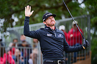 Jimmy Walker (USA) watches his tee shot on 17 during round 3 of the Valero Texas Open, AT&amp;T Oaks Course, TPC San Antonio, San Antonio, Texas, USA. 4/22/2017.<br /> Picture: Golffile | Ken Murray<br /> <br /> <br /> All photo usage must carry mandatory copyright credit (&copy; Golffile | Ken Murray)
