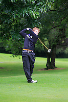 Adam Doran (Ardee) on the 3rd tee during round 1 of The Mullingar Scratch Cup in Mullingar Golf Club on Sunday 3rd August 2014.<br /> Picture:  Thos Caffrey / www.golffile.ie