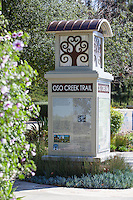 Oso Creek Trail Monument In Mission Viejo