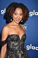BEVERLY HILLS, CA - APRIL 12: Actress Erica Ash attends the 29th Annual GLAAD Media Awards at The Beverly Hilton Hotel on April 12, 2018 in Beverly Hills, California.<br /> CAP/ROT/TM<br /> &copy;TM/ROT/Capital Pictures
