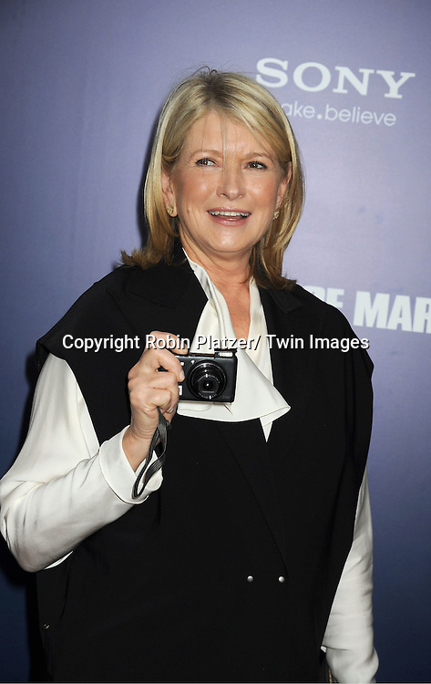 "Martha Stewart  attends the New York Premiere of ""The Ides of March"" ..on October 5, 2011 at The Ziegfeld Theatre in New York City. The movie stars George Clooney, Marisa Tomei, Evan Rachel Wood, Paul Giamatti, Phillip Seymour Hoffman and Jeffrey Wright."