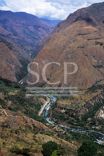 Urubamba Valley, Peru. The Urubamba River.