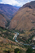 Urubamba Valley, Peru. The Urubamba River.