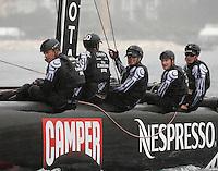 NAPOLI 13/04/2012 WORLD SERIES DELL AMERICAN'S CUP 2012.NELLA FOTO NEW ZELAND.FOTO CIRO DE LUCA