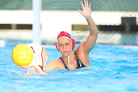 10 May 2008: Stanford Cardinal Lauren Silver during Stanford's 10-6 loss against the USC Trojans in the National Collegiate Women's Water Polo Tournament semifinal game at Avery Aquatic Center in Stanford, CA.