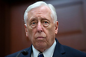 United States House Majority Leader Steny Hoyer (Democrat of Maryland) speaks about the Never Against Holocaust Education Act during a press conference on International Holocaust Remembrance Day at the United States Capitol in Washington D.C., U.S., on Monday, January 27, 2020.<br />  <br /> Credit: Stefani Reynolds / CNP