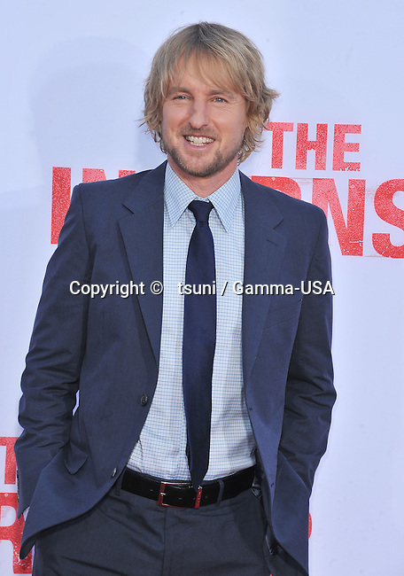Owen Wilson 134 arriving at The Internship Premiere at the Westwood Village Theatre in Los Angeles.