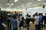 General view, MARCH 28, 2016 : Ajinomoto held a press conference in Tokyo to announce that it had entered into a partnership agreement with the Tokyo Organising Committee of the 2020 Olympic and Paralympic Games and as such has become an official partner for Tokyo 2020. (Photo by YUTAKA/AFLO SPORT)