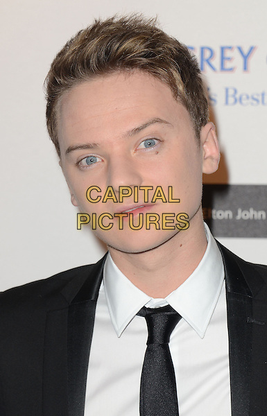 Conor Maynard.arriving at the Grey Goose Ball in aid of the Elton John Aids Foundation, Battersea Power Station, London, England, UK, 10th November 2012..portrait headshot black tie white shirt suit .CAP/WIZ.© Wizard/Capital Pictures.