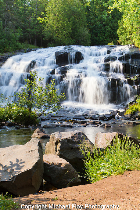 Bond Falls, Ontonagon River, Upper Peninsula, Michigan