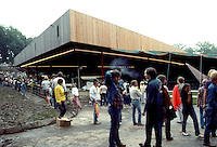 Grateful Dead 1983 06-20 | Crowd and Venue before the Concert | Merriweather Post Pavilion MD