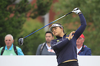 Wichanee Meechai (THA) on the 2nd tee during Round 2 of the Ricoh Women's British Open at Royal Lytham &amp; St. Annes on Friday 3rd August 2018.<br /> Picture:  Thos Caffrey / Golffile<br /> <br /> All photo usage must carry mandatory copyright credit (&copy; Golffile | Thos Caffrey)