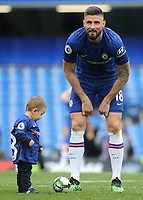 Olivier Giroud of Chelsea on the pitch after the match during Chelsea vs Watford, Premier League Football at Stamford Bridge on 5th May 2019
