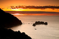 Sunset at Knight's Point on the West Coast - South Westland, West Coast, New Zealand