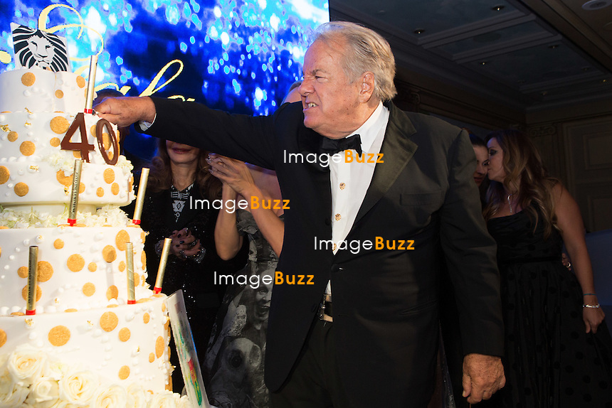 Massimo Gargia : &quot; The Best &quot; 40th Edition &agrave; l'h&ocirc;tel George V.<br /> France, Paris, 27 janvier 2017.<br /> ' The Best ' 40th Edition at the George V hotel in Pais.<br /> France, Paris, 27 January 2017