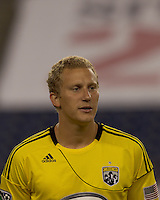 Columbus Crew forward Steven Lenhart (32). The New England Revolution tied Columbus Crew, 2-2, at Gillette Stadium on September 25, 2010.