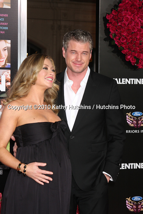 Rebecca Gayheart & Eric Dane.arrivng at the Valentine's Day World Premiere.Grauman's Chinese Theater.Los Angeles, CA.February 8, 2010.©2010 Kathy Hutchins / Hutchins Photo....