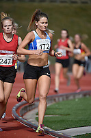 Lydia O'Donnell in action during the Athletics - NZ Track and Field Championships at Newtown Park, Newtown, New Zealand on Friday 6 March 2015. <br /> Photo by Masanori Udagawa. <br /> www.photowellington.photoshelter.com.