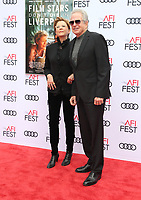 HOLLYWOOD, CA - NOVEMBER 12: Annette Bening, Warren Beatty, at the Film Stars Won't Die In Liverpool Special Screening AFI Fest 2017 at the TCL Chinese Theatre in Hollywood, California on November 12, 2017. Credit: Faye Sadou/MediaPunch /NortePhoto.com