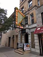 Upper West Side New York CIty 20 October 2018