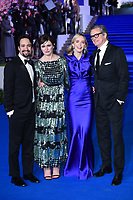 "Lin-Manuel Miranda, Emily Mortimer, Emily Blunt and Colin Firth<br /> arriving for the ""Mary Poppins Returns"" premiere at the Royal Albert Hall, London<br /> <br /> ©Ash Knotek  D3467  12/12/2018"