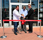 MIAMI, FL - MARCH 02: Chef Allen Susser, Books & Books Founder Mitchell Kaplan and John Richard President & CEO of the Arsht Center attends Books & Books at the Arsht Center Grand Opening Ribbon Cutting Ceremony And Party on Thursday, March 02, 2015 in Miami, Florida. ( Photo by Johnny Louis / jlnphotography.com )