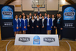 Girls' bronze placing St Mary's College Ponsonby. 2019 Schick AA Secondary Schools Basketball National Championship post-tournament awards at the Central Energy Trust Arena in Palmerston North, New Zealand on Saturday, 5 October 2019. Photo: Dave Lintott / lintottphoto.co.nz