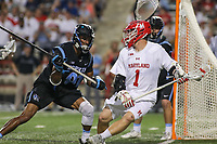 NCAA LACROSSE: John Hopkins at Maryland