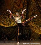 RAYMONDA..Choregraphie : PETIPA Marius,NOUREEV Rudolf.Compagnie : Ballet de l Opera National de Paris.Orchestre : Colone.Decor : GEORGIADIS Nicholas.Lumiere : PEYRAT Serge.Costumes : GEORGIADIS Nicholas.Avec :.LE RICHE Nicolas:Abderam..Lieu : Opera Garnier.Ville : Paris.Le : 30 11 2008.© Laurent PAILLIER / photosdedanse.com