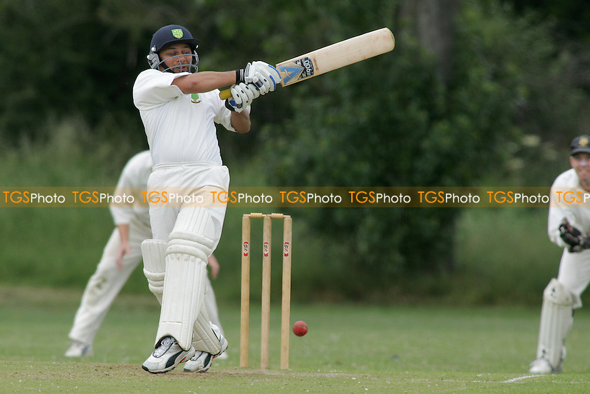 Gidea Park & Romford CC vs South Woodford CC - Essex Cricket League - Essex Sunday Junior Trophy Final at Witham Town FC - 11/06/05 - MANDATORY CREDIT: Gavin Ellis/TGSPHOTO - SELF-BILLING APPLIES WHERE APPROPRIATE. NO UNPAID USE -  Tel: 0845 0946026