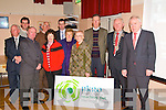 NKRO Web Site Launch : Pictured at the launch of the North Kerry Reaching Out Heritage Project web site which was  launched by Minister for the Arts, Heritage & The Gaeltach, Jimmy Deenihan, TD.  at The Seanachi Centre in Listowel on Friday night were Tom Donovan, Cllr Jimmy Moloney. Cllr. Pat Leahy, ...........Nancy McAuliffe, Ger Greaney, Nora Sheahan, Mary Boyer, Tony O'Hanlon, Mayor of Kerry, Cllr.Tim Buckley & Minister Jimmy Deenihan.