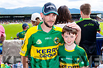 Jonathon and Jack Diver, Lispole, pictured at the Kerry v Clare Munster semi-final at Fitzgerald Stadium, Killarney on Sunday last.