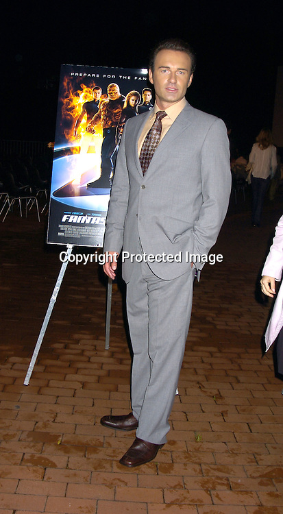 "Julian McMahon ..at The World Premiere of Twentieth Century Fox's ""Fantastic Four"" on July 6, 2005 at the Statue of Liberty on Liberty Island in New York Harbor. ..Photo by Robin Platzer, Twin Images"