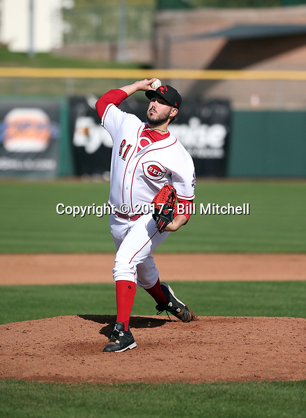Jacob Ehret - Scottsdale Scorpions - 2017 Arizona Fall League (Bill Mitchell)