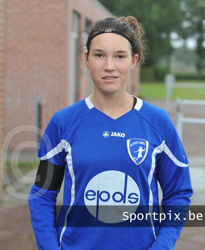 AA Gent Ladies : Florien Meulewater .foto DAVID CATRY / Vrouwenteam.be