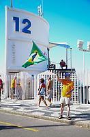 RIO DE JANEIRO, RJ - 24.06.2018 - ELEIÇÕES-RJ - O pré-candidato ao governador Marcelo Trindade do partido Novo durante caminhada pela orla do Leblon na zona sul do Rio de Janeiro (RJ), neste domingo (24) - (Foto: Vanessa Ataliba/Brazil Photo Press)