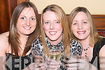 TOASTING: Toasting in the New Year at The Castle Bar, Tralee, on Sunday night were, l-r: Angelina Lehane, Mary Flahive and Elaine Lehane..